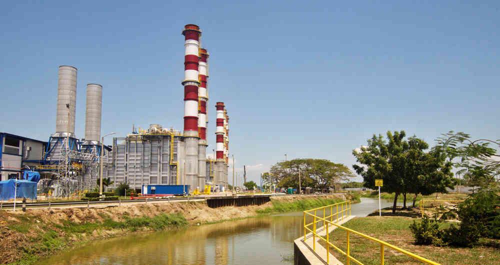 Tebsa, la central térmica más grande de Colombia, ha evitado apagones en el país